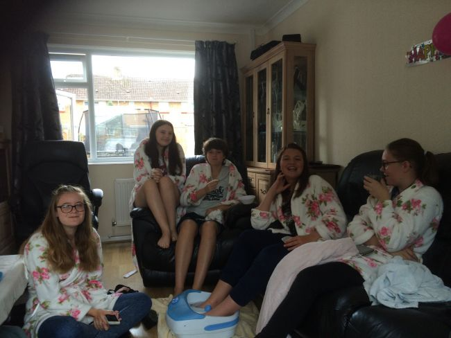 Children's pamper party poole