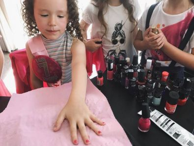 childrens spa parties